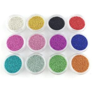 Комплект-12-цвята-хайвер-топченца-за-нокти