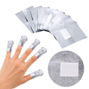 Фолио за нокти за сваляне на гел лак