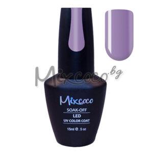 Лилав гел лак за нокти Mixcoco