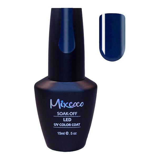 Тъмносин гел лак за нокти Mixcoco