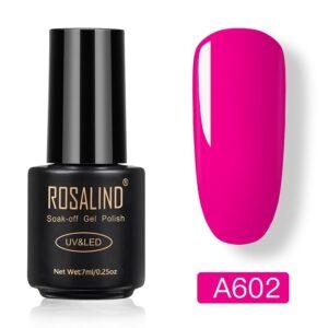 Гел лак Rosalind A602 - цикламен