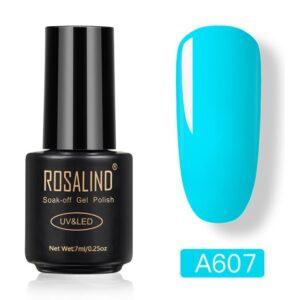 Светлосин гел лак Rosalind A607