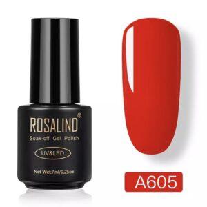 Червен гел лак Rosalind A605