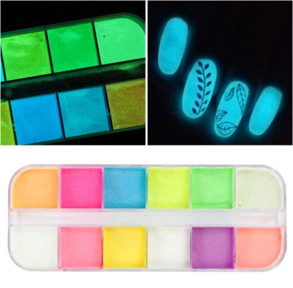Фосфоресциращи пигменти за нокти